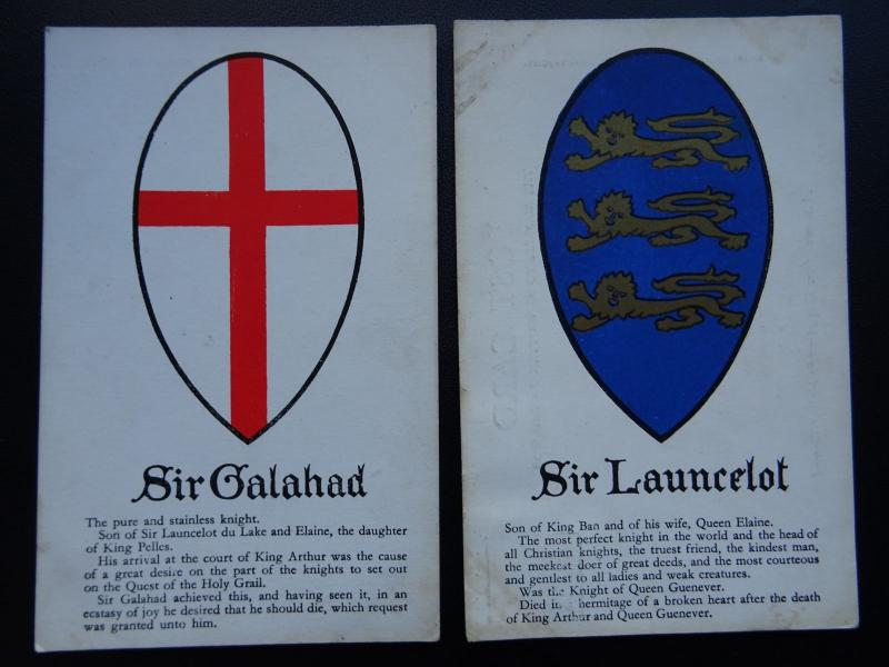 Cornwall Collection of 7 KING ARTHUR & KNIGHTS OF THE ROUND