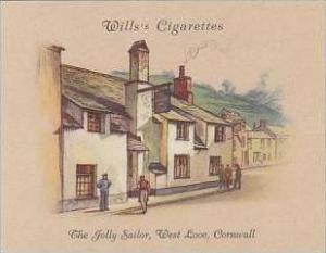 Wills Cigarette Card 2nd Series No 18 Jolly Sailor West Looe Cornwall
