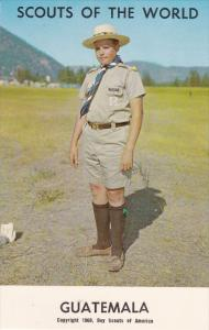 Boy Scouts of the World, GUATEMALA, 1960´s