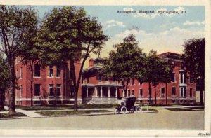 HOSPITAL SPRINGFIELD, IL 1921