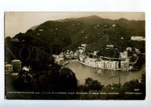 247153 ITALY PORTOFINO Hotel Splendid Vintage photo postcard
