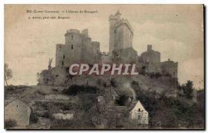 Old Postcard Chateau Bonaguil