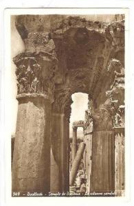 RP, Bacchus Temple- The Leaning Column, Baalbek, Lebanon, 1920-1940s