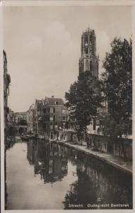 Utrecht - Oudegracht Domtoren