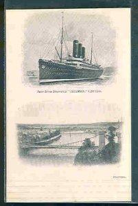 pc10896 postcard Inverness Twin Screw Steamship Columbia MOBSC UDB
