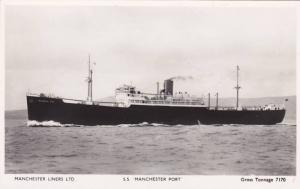 RP; Manchester Liners Ltd., S. S. Manchester Port, 10-20s