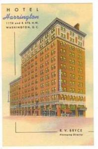 Hotel Harrington, Washington DC. 30-40s