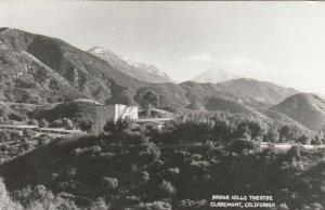 RP: CLAREMONT, California, 1950s; Padua Hills, Theatre