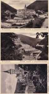 Lillafured Palota 3x Real Photo Hungary Postcard s