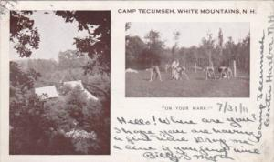 Running On Your Mark Camp Tecumseh White Mountains New Hampshire 1911