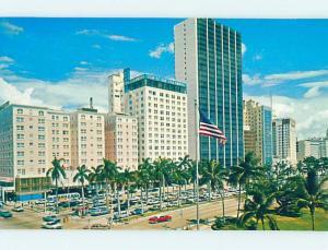 Unused Pre-1980 STREET SCENE Miami Florida FL hp1799