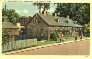 Fort Wester & Block House in Augusta, Maine