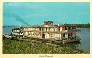 IN, Bloomington, Indiana, Showboat Majestic, Floating Theatre, Curteichcolor
