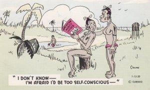 Native read American Nudist Leader Magazine I don't know-I'm afraid I'd be t...