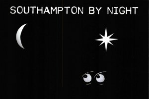 NEW Postcard, Southampton by Night, Humor, Novelty, Fun, Funny EQ5