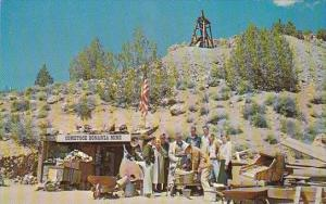 Panning Gold At De La Mares Fabulous Comstock Bonanza Mine Carson City Nevada