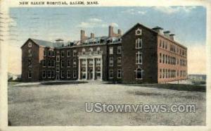 New Salem Hospital Salem MA 1923