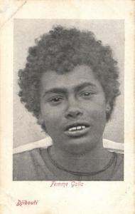 CPA Djibouti Afrique - Femme Galla (87048)