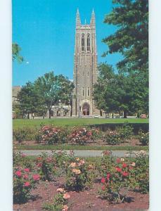 Pre-1980 DUKE UNIVERSITY CHAPEL Durham North Carolina NC A9303