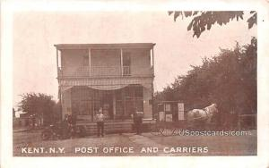 Post Office and Carriers Kent NY Postal Used Unknown