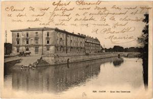 CPA   Caen - Quai des Casernes  (515833)