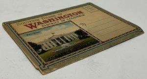 Vintage Souvenir Folder of Washington, District of Columbia  20 images