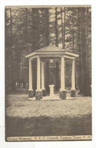 Barney Memorial, N. E. F. Grounds, Rumney Depot, New Hampshire, 1900-1910s