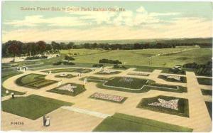 D/B Sunken Flower Beds in Swope Park Kansas City Missouri MO