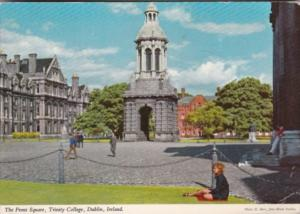 Ireland Dublin The Front Square Trinity College 1976