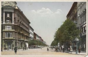 Hungary Budapest Andrassy Street