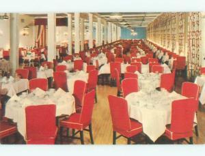 Pre-1980 GRAND HOTEL RESTAURANT Mackinac Island Michigan MI W6781