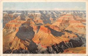 Arizona, Grand Canyon National Park, North from Pima Point 1927