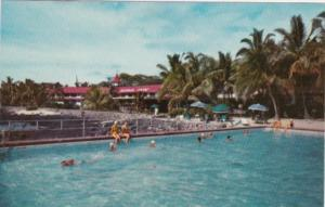 Hawaii Kailua Kona Inn Swimming Pool 1960