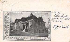 Lisbon New Hampshire~New Opera House~1906 Art Nouveau