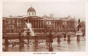 BR60239 the national gallery london   real photo uk