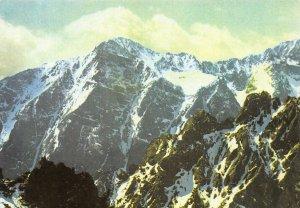 The Tatra National Park Peak of Slavkov Ridge of Lomnica Postcard