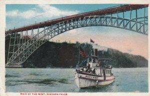 NIAGARA FALLS , New York , 1900-10s ;  Steamer MAID OF MIST