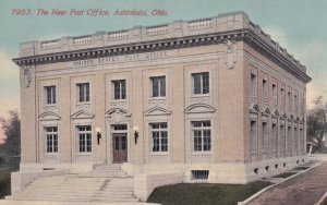 ASHTABULA, Ohio, 1900-1910's; The New Post Office