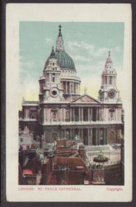 St Paul's Cathedral,London,England,UK Postcard