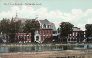 CORNWALL , Ontario , Canada , 1908 ; Hotel Dieu Hospital