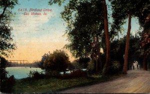 Iowa Des Moines Scene Along Birdland Drive 1915