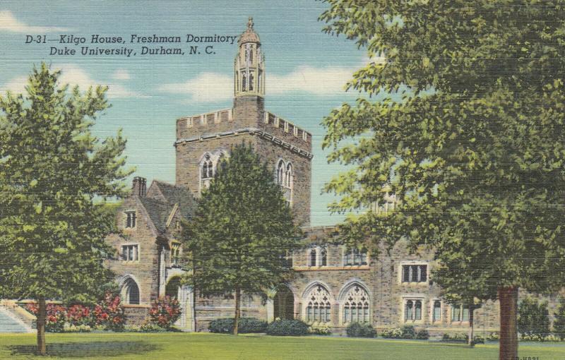 DURHAM , North Carolina, 1930-40s ; Kilgo House, Freshman Dorm., DUKE University