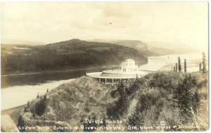 RPPC of the  Vista House Crown Point Columbia River Highway Oregon OR