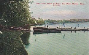 Clear Lake Beach at North Star Park, Waseca, Minnesota,00-10s