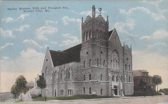 Missouri Kansas City Shrine Mosque 12th And Prospect Sts