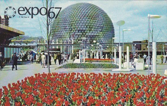 United States Pavilion Expo 67 Montreal Canada