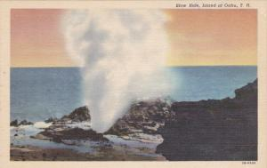 Blow Hole , OAHU , Hawaii , 30-40s