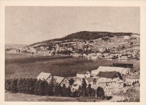 La Gaspesie- Panorama Du Village De GASPE, Quebec, Canada, 1910-1920s