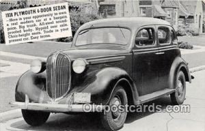 1938 Plymouth 4 Door Sedan Wellington, Kansas, USA Auto, Car Unused