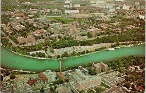 Minneapolis MN~University of Minnesota Campus Aerial~Mississippi River~1960s PC